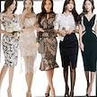 「 03/22 新作追加 Special Offer」♥高品質♥韓国ファッション♥OL、正式な場合、礼装ドレス♥セクシーなワンピース、一字肩♥二点セット、側開、深いVネック♥やせて見える、ハイウエスト