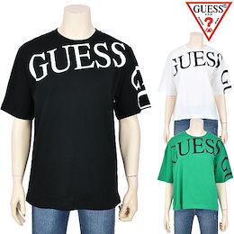 [10%割引中][ゲス]ユニセックスオーバーフィットロゴ半袖Tシャツ(NK2K0366)【正規品】【AK公式ストア】送料無料 海外直送