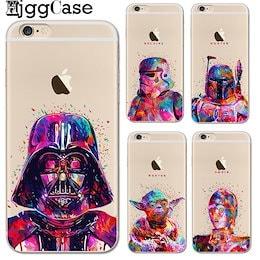 アップル iPhone x 8 7 6 6sプラス 5 5s seバックカバー スターウォーズソフト TPUシリコン ケース samsung s6 s7 edge