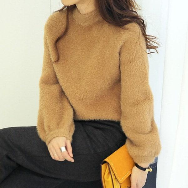 【海外直送】ファーニット FREE サイズ 韓国ファッション レディースファッション