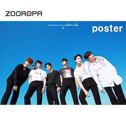 (KPOP)(ポスターB +か貫通)アストロ(ASTRO)Rise Upお前じゃない(ブロマイド1枚+地貫通)/ KPOP Idolster CD、DVD、goods