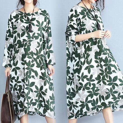 Meisis green leaf korean fashion style