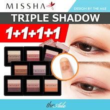 [MISSHA/ミシャ]【送料無料】★1+1+1+1★ ミシャMissha TRIPLE SHADOW 16colors