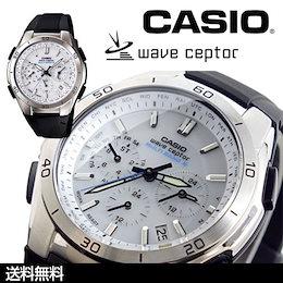 ★送料無料★CASIO  カシオ クロノグラフソーラー電波時計 WAVE CEPTOR ウェーブセプター 【WVQ-M410-7AJF】[201204]【腕時計 /メンズ腕時計/レディース腕