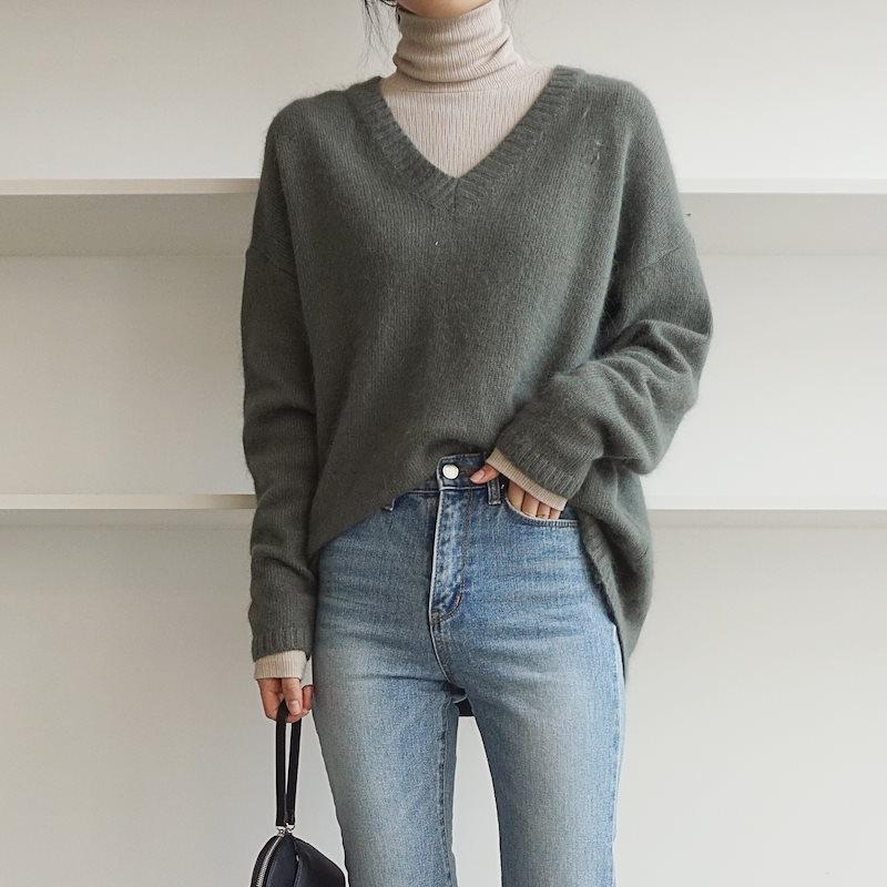 バリアンゴラVのニット5col korea fashion style