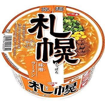 サッポロ一番 旅麺 札幌 味噌ラーメン 99g×12個