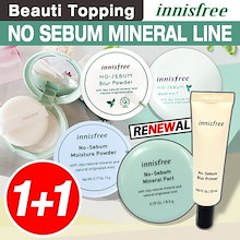 NEW★1+1★INNISFREE★ノセバームミネラルファクト/パウダー/ブラーパウダー/ No Sebum Mineral Powder/ Skin/ lotion[Beauti Topping