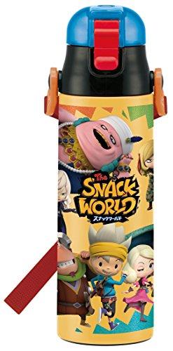 【数量限定】 スケーター 子供用 直飲み 水筒 ステンレス 580ml スナックワールド SDC6N