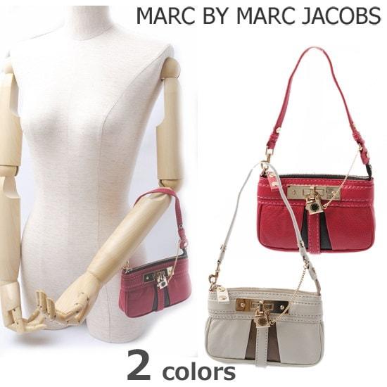 "MARC BY MARC JACOBS(マークバイマークジェイコブス) ""ROCK IT "" チェーン アクセサリーポーチ M382415 【新品】【送料無料】"