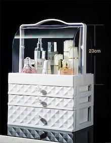 新製品の入荷  化粧品 小物  高品質  収納ボックス オーガナイザー 引き出し付き 大容量