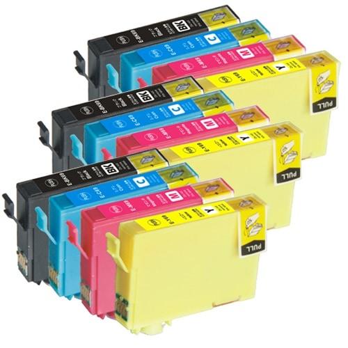 IC4CL69L ×3 / 4色セット EPSON (エプソン) 互換インク 全色染料 【対応インク型番】 ICBK69 ICC69 ICM69 ICY69