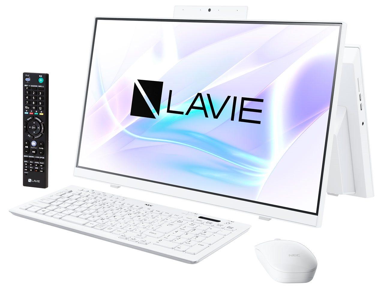 NEC LAVIE Home All-in-one HA370/RAW PC-HA370RAW [ファインホワイト]23.8型/Win10/Celeron 5205U/8GB/1TB/