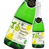千葉のめぐ実 柚子スパークリングワイン 720ml 1本