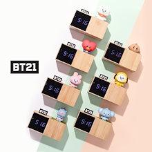 [BT21 BTS 公式] 新商品 LED 時計置き時計 BTS防弾少年団キャラクター時計 寝室の勉強部屋 BT21 BABY Digital Table / インテリアの友達の自炊誕生日プレゼント