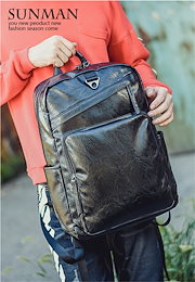 e48be407ca Video 韓国ファッション メンズ デイバッグ BAG パソコン入り 学生