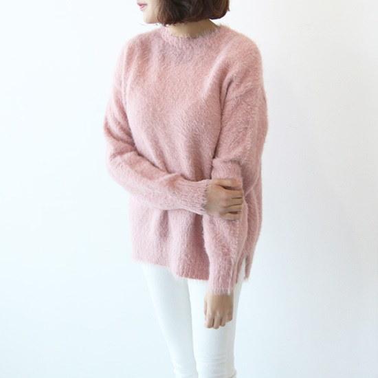 ピグメント慈雨会社ラウンドニートA17122807 ニット/セーター/韓国ファッション