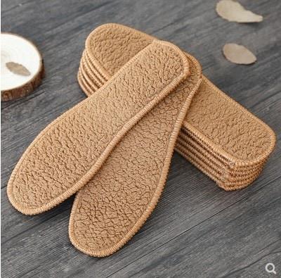 【10足】秋冬はアルパカのフリースインソールが保温性を高め、吸汗・透湿・防臭・脱臭・脱脂パッドが男女兼用の綿ウール