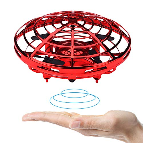 BOMPOW 2020款新型ドローン 360度回転 子供と大人用ドローン 小型 ハンドコントロール 高度維持 自動ホバリング機能ミニドローン RC ドローン 日本語説明書 クリスマス