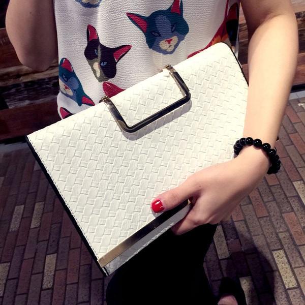 韓国ファッション夏新作!レディースハンドバッグ/ショルダーバッグ クラッチバッグ 財布、トートバッグパーティーバッグ シンプルオシ