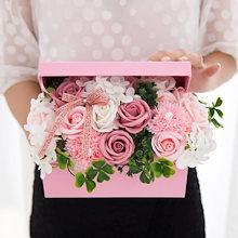 シャボンフラワー ハーモニー ソープフラワー 誕生日 プレゼント 母 女性 女友達 彼女 結婚祝い お祝い ギフト 退職 新築祝い 送別会 お花