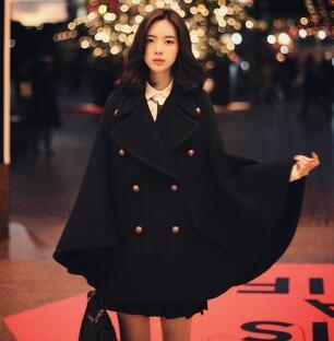 55555SHOP[55555SHOP]2017新品 韓国ファッション レディース アウタージャケットコート欧米風体型カバー大セール
