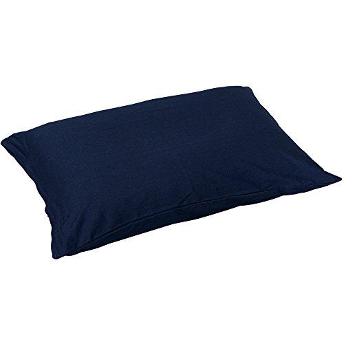 アイリスオーヤマ 枕カバー 35×50cm ネイビー CMP-3550