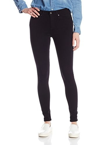 AG Adriano Goldschmied Womens The Farrah Skinny Jean, Super Black, 24