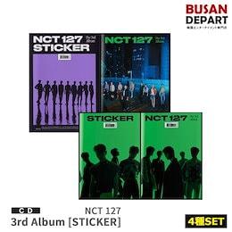 メガ割 4種セット 初回ポスター NCT 127 正規3集 STICKER