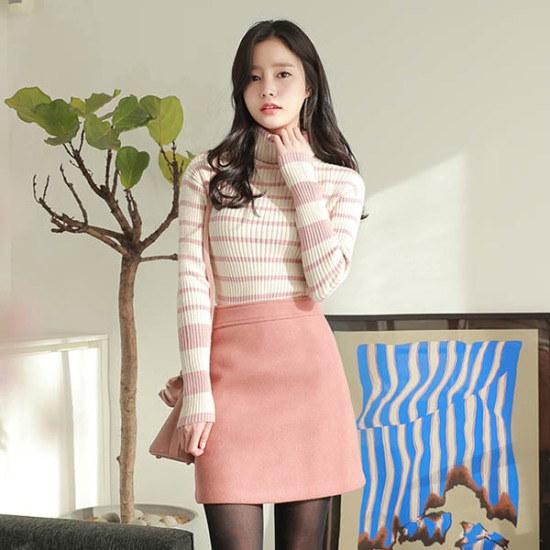 フィオナベベスイートknitm5745ニート ニット/セーター/タートルネック/ポーラーニット/韓国ファッション
