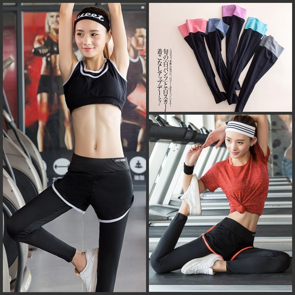 Qoo10ヨガパンツ/ダンス/レディース/サルエルパンツ/フィットネス/ウェア/トレーニング/ホットヨガ/スポーツ/ウォーキング/yoga/ヨガ ファッションネススポーツレギンス レディース ボトムス パ