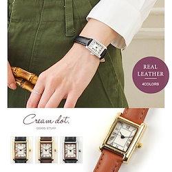 55da0ebf40 【ゆうパケットOK】腕時計 レディース 革ベルト 本革 レザーベルト シンプル ローマ数字