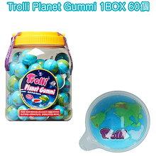 [TROLLI]  トロリー PLANET GUMMI Jelly 1box(60個) soft fruit gum 地球グミ ASMR お菓子 韓国グミ