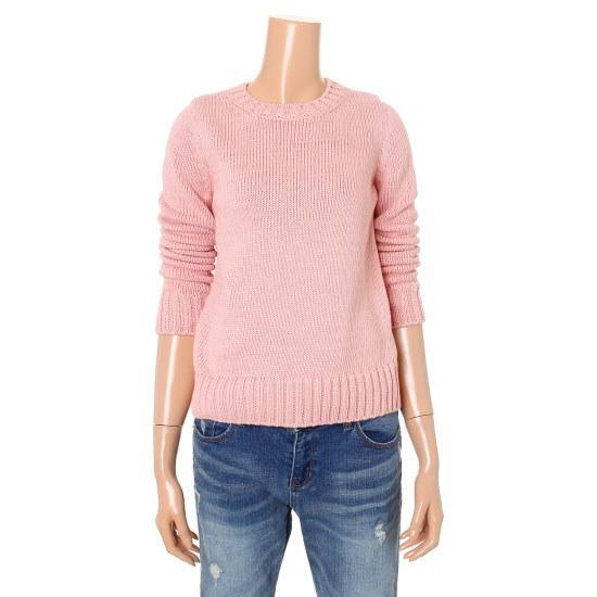 シエロベーシックニットプルオーバーSA1KTF018 ニット/セーター/韓国ファッション