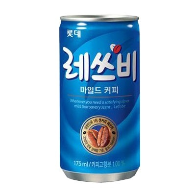 『LOTTE』 レッツビコーヒー(250ml) ロッテ 缶コーヒー 韓国ドリンク 韓国飲み物 韓国飲料 韓国食材 韓国食品