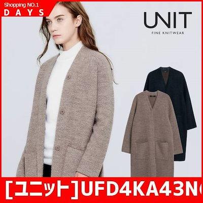[ユニット]UFD4KA43Nの某ヘア混紡コート /ポコート/コート/韓国ファッション