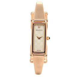 グッチ GUCCI 時計 腕時計 グッチ 時計 レディース GUCCI 1500シリーズ 腕時計 YA015560 ウォッチ ホワイトパール/ピンクゴールド