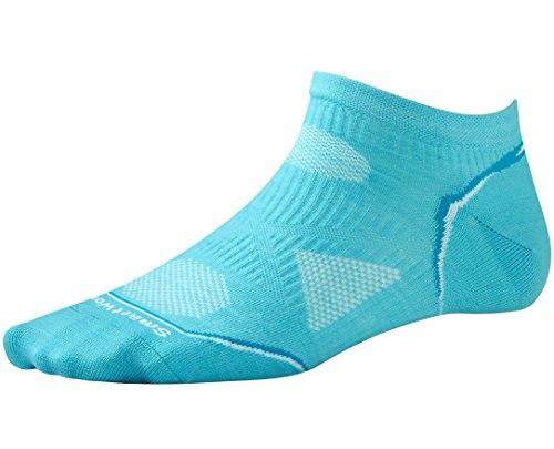 Smartwool PhD Cycle Ultra Light Micro Sock - Womens Light Capri Medium