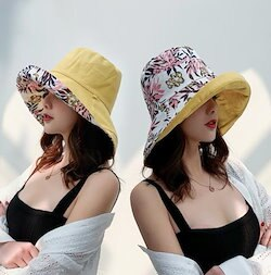 ef13737adfad0d 夏対策☆UVカット 帽子ハット レディース 紫外線対策 日焼け防止 軽量 熱中症