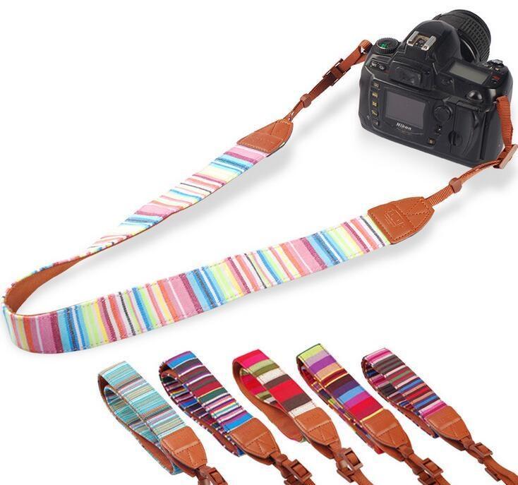 デジタルカメラ/一眼レフカメラ用カメラストラップ/斜めがけ/Nikon D810/CANON EOS 7D/SONY α6000用カメラストラップ【A186】