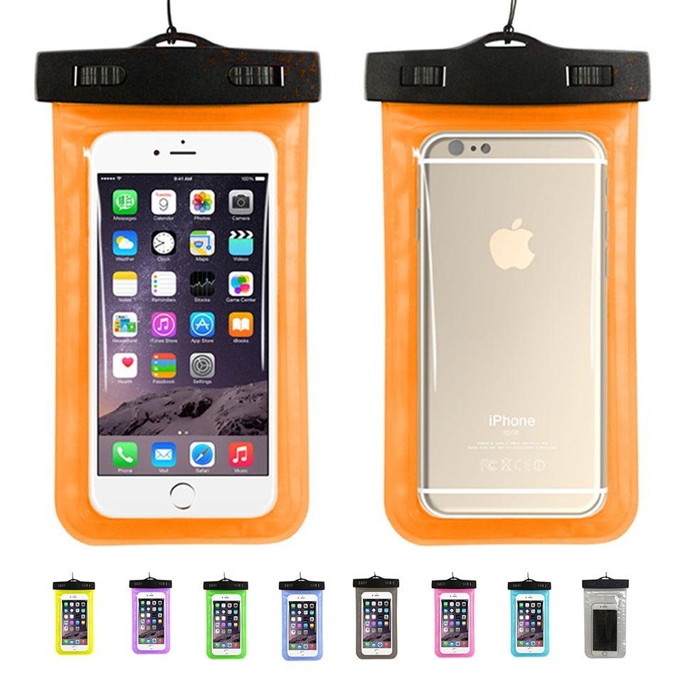 【送料無料】 防水ケース iPhone 水中撮影 防水ケース IPX8 アイフォン 防水 ポーチ iPhone Plus Xperia GALAXY スマホ スマートフォン デジカメ 防水 y1