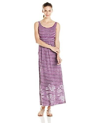 prAna Womens Adrienne Dress, Fuchsia, Large