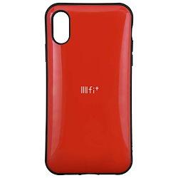 ebe74bf3fe グルマンディーズ iPhoneXR(6.1inch) ケース IIIIfit イーフィット レッド ift-29rd