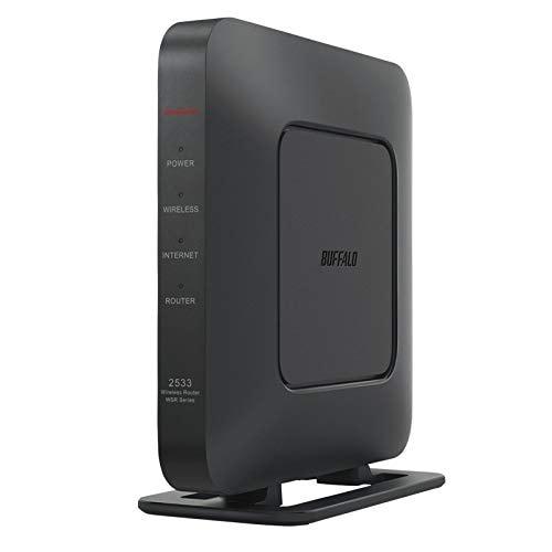 BUFFALO WiFi 無線LAN ルーター WSR-2533DHPL2/NB 11ac ac2600 1733+800Mbps IPv6対応 デュアルバンド 4LDK 3階建向け