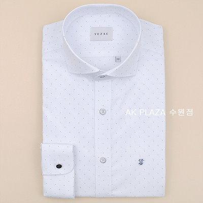 YEZAC[AK公式ストア]【YEZAC] [イェジャクシャツ】メンズ一般ピットストレッチミニ正方形ドットシャツYJ8SBR547ホワイト
