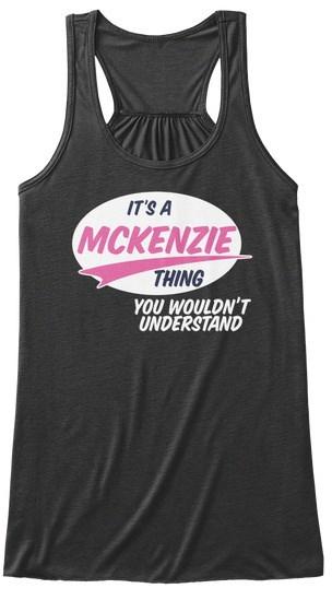 Mckenzie It A A BELLA + CANVASレディースフローティックタンク