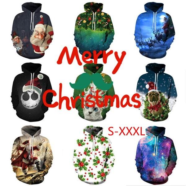 帽子セーター愛好家とクリスマスデジタルプリント