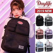 【人気商品再入庫!!!2019 UPGRADE!!】★[Day Life] Multi Pocket Backpack デーライフマルチ
