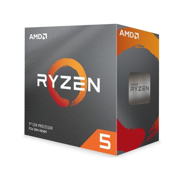 AMD Ryzen 5 3600 with Wraith Stealth cooler 3.6GHz 6コア / 12スレッド 35MB 65W 100-100000031BOX