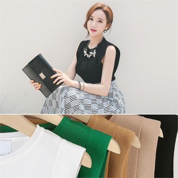 TPI093翼小売ラウンドネック・サマーニットnew 女性ニット/ラウンドニット/韓国ファッション