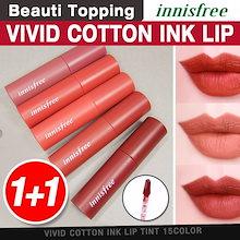 1+1★高発色★INNISFREE★ビビッドコットンインクリップティント/Vivid Cotton ink Lip Tint[Beauti Topping]